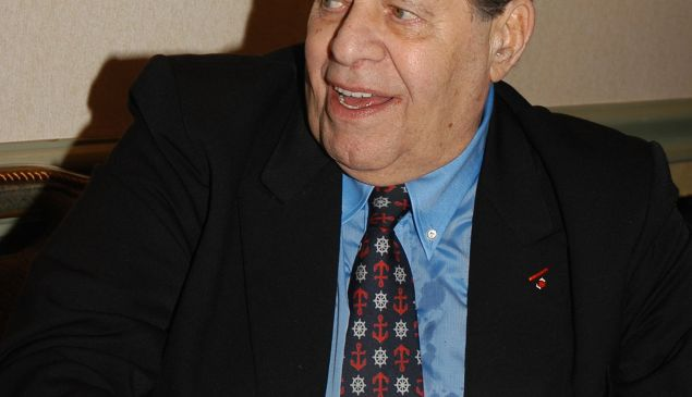 Jerry Lewis at the Friars Club To Roast Jerry Lewis, New York Hilton, June 9, 2006 (Matt Carasella/©Patrick McMullan)