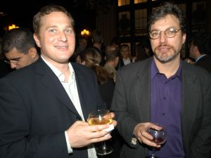 Mr. Alterman (right) (Photo by Richard Orjis / PMc)