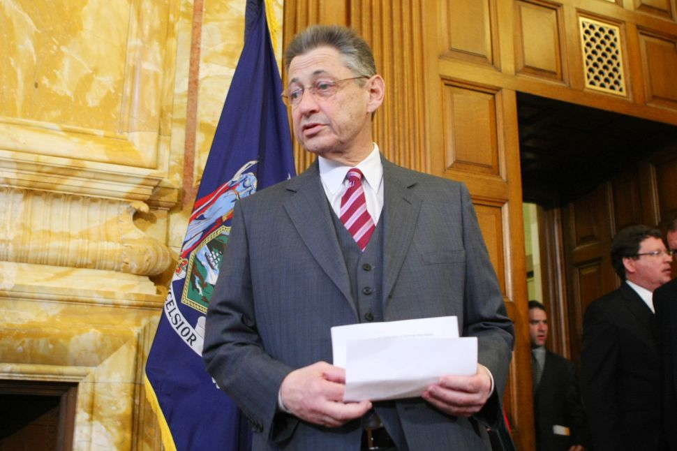 Sheldon Silver: They'll All Be With Hillary in the End