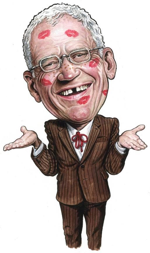 David Letterman's Bizarre Late-Night Love Triangle
