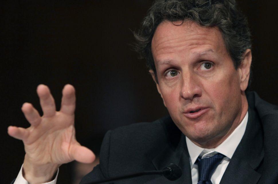 My Tim Geithner Fantasy