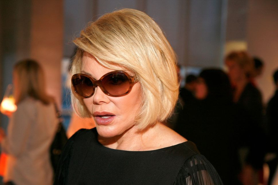 Dispatches from Tribeca: Can We Talk About Joan Rivers?