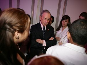 Mayor Bloomberg speaks at Kips Bay Showhouse President's Dinner. April 21, 2011 (Photo Credit: Kristen Artz)