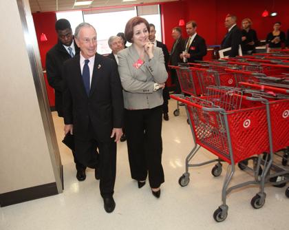 Bloomberg and Quinn (Photo: Spencer T Tucker)