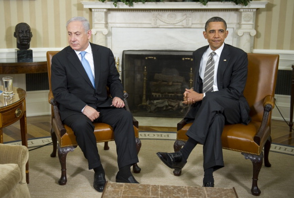 Bibi Netanyahu, the 'Chickensh*t' Who Won't Play Ball with Barack Obama