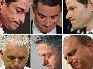Scandal Faces, via cityroom.blogs.nytimes.com