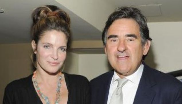 Peter Brant and wife Stephanie Seymour.