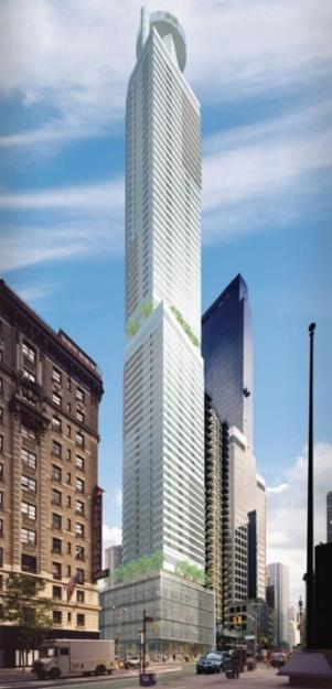 The Mile-High Marriott: The Western Hemisphere's Tallest Hotel Opens in Midtown