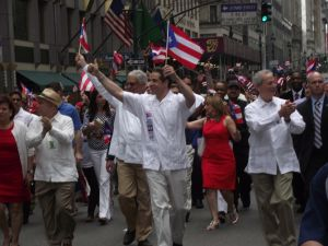 Gov. Andrew Cuomo at a past Puerto Rican Day Parade.