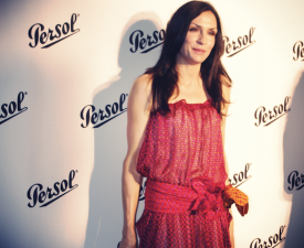 Famke Janssen at the Persol Magnificent Obsessions exhibition opening at Center 548 on June 16, 2011 in New York City. Photo by Berangere.