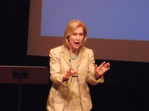 Senator Kirsten Gillibrand. (photo credit: azi paybarah / observer)