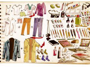 Packing list, Adolf Konrad, December 16, 1963.