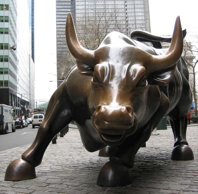 Afternoon Bulletin: Is the Charging Bull Making a Move?