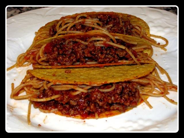 The Times Investigates Spaghetti Tacos A Food Inevitability Observer