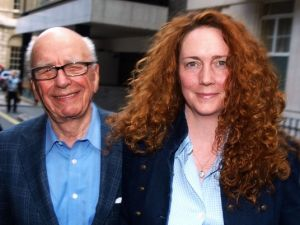 Rupert Murdoch and Rebekah Brooks (Getty)