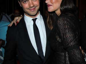 Dominic Cooper and Paz de la Huerta