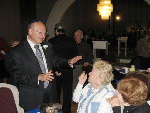 Rep. Ackerman, speaking at the Bayside Jewish Center in October 2010. (via Ackerman's flickr stream)