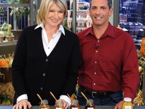 Andrew Coté with Martha Stewart
