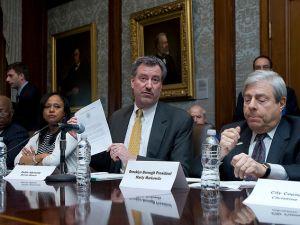Public Advocate Bill de Blasio (photo credit: william alatriste)