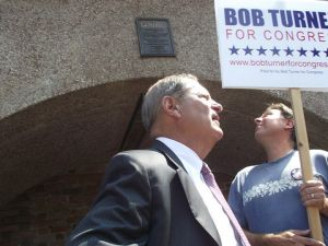 Bob Turner, Republican candidate for NY-9, advocates for domestic drilling. (photo credit: azi paybarah / observer)