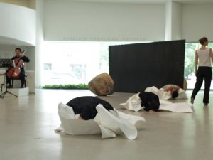Dancers Perform On Vanishing by Jonah Bokaer