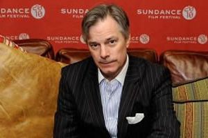 Whit Stillman, with pocket square.