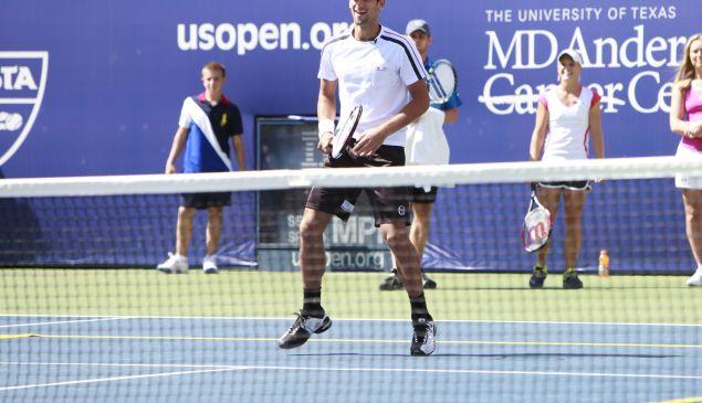 Novak Djokovic at the 2010 U.S. Open (Patrick McMullan)