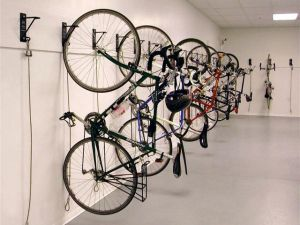 Better than a workout room? What about a patio cabana? (nycbikestorage.blogspot.com)