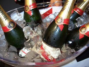 1,800 bottles of champagne were served on opening day at TEFAF 2011. Photo: e_calamar/Flickr