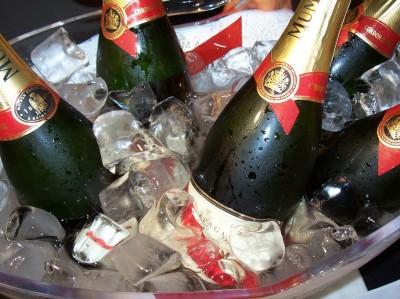 Champagne Spills Pulitzer Prize Award