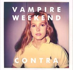 Ms. Kennis, on the cover of Vampire Weekend's album.
