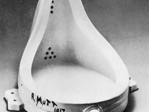 Marcel Duchamp's 1917 Fountain.