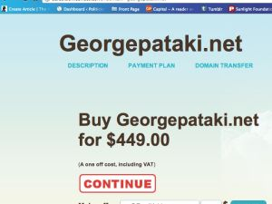 Want to buy GeorgePataki.net ?