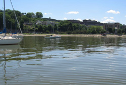 A beach in Ossining