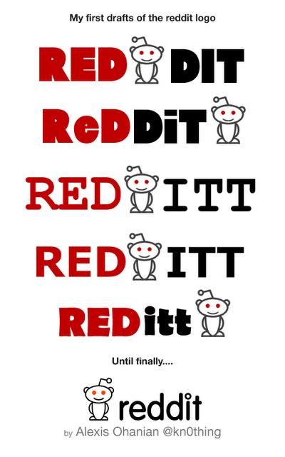 The Evolution of the Reddit Logo