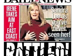 New York Governor Andrew Cuomo's girlfriend makes the front page. (via newseum.org)