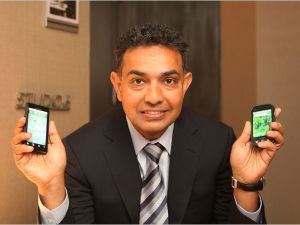 Motorola CEO Sanjay Jha.