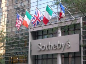 Sotheby's stock is down 29 percent over the past month.