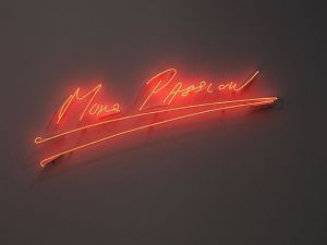 """Tracey Emin's """"More Passion"""" (2010) (Photo: Lehmann Maupin)"""