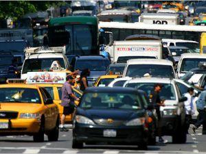 Traffic in New York City (New York Observer File Photo).