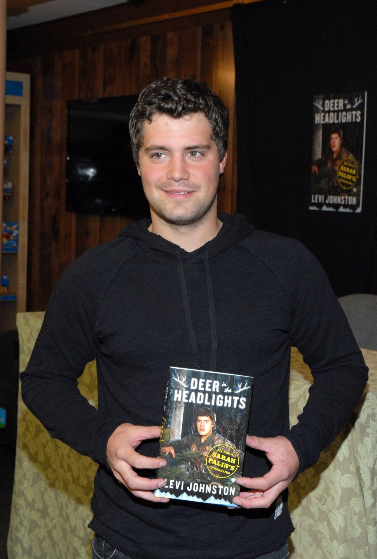 "Levi Johnston's New York Book Tour Now Involves ""Gay Baby"" Photos"