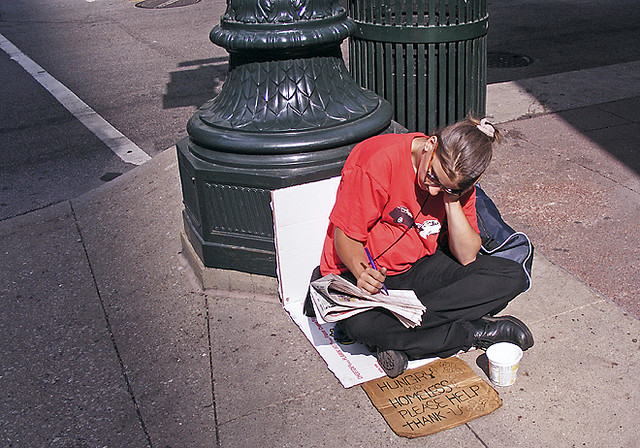 New York Social Diary Exposes Trendy Homeless Panhandlers of Fifth Avenue
