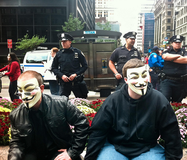 Update: Wall Street Protests Slow Down to Trickle, Six Arrests so Far