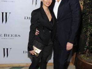 Artist Teresita Fernández with her New York dealer David Maupin, of Lehmann Maupin. (Photo: Patrick McMullan Co.)