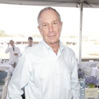 Mayor Michael Bloomberg, dressed down, unlike his homes.