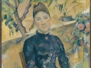 Paul Cezanne, Portrait of Madame Cezanne, 1891, Metropolitan Museum of ARt
