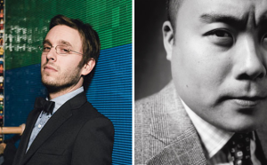 Band of Outsiders' Scott Sternberg and Momofuku's David Chang.
