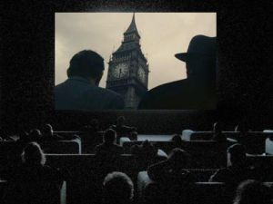 Still from The Clock by Christian Marclay.