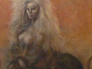Sphinx pour David Barrett by Leonor Fini (1954)