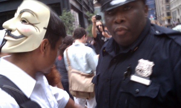 'Occupy Wall Street' Protesters Regroup at Liberty Plaza With Pizza, Tales of Battle